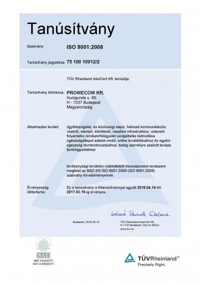 PROMECOM-ISO-Tanúsítvány-20150414