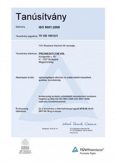 PROMEDITCOM-ISO-Tanúsítvány-20150414